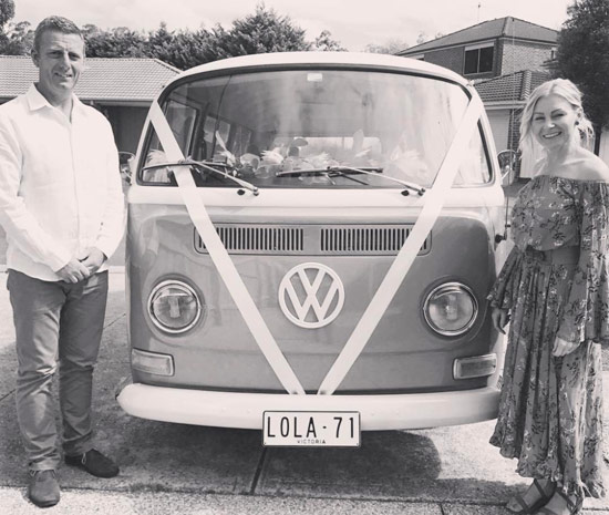 Mark & Sonia - Kombi Dreams Founders